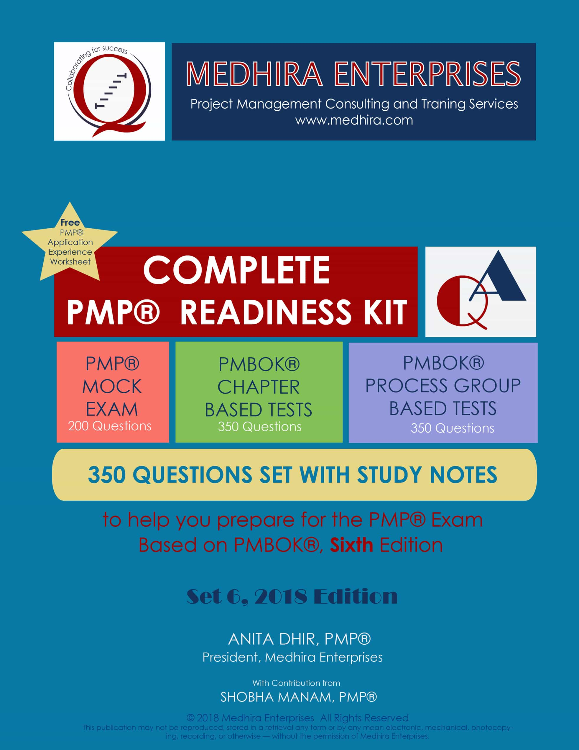 Get organized notes to help you understand the PMBOK and succeed in your PMP test