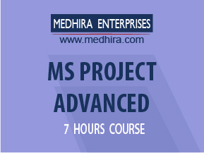 Medhira MS Project Class to help you manage multiple projects and portfolios