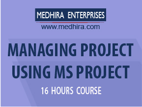Medhira MS Project Classes to help you excel in project management